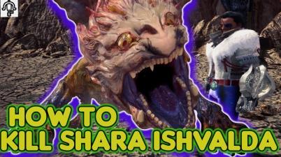 Shara Ishvalda How To KIll